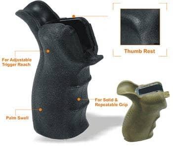 AR15 Ergo Style Pistol Grip