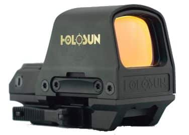 The HS510C Open Reflex Circle Dot Sight