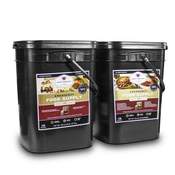 Wise Foods 240 Serving Emergency Bucket